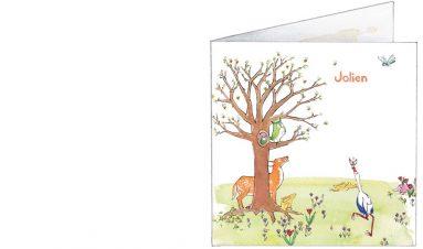 voorkant | Jolien | ooievaar, hert, egel, uil, insecten, egel
