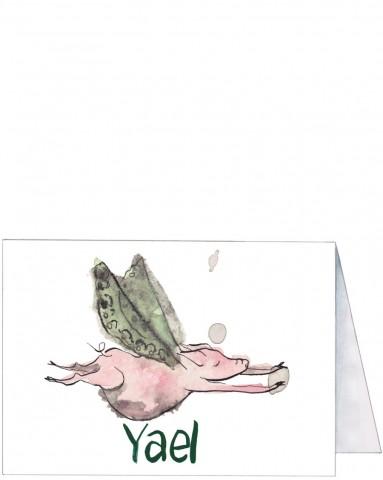 Voorkant | Yael | vliegend varken