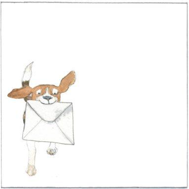 Envelop | Toon | honden